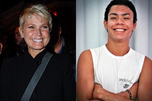 Xuxa e Marcus Vinicius