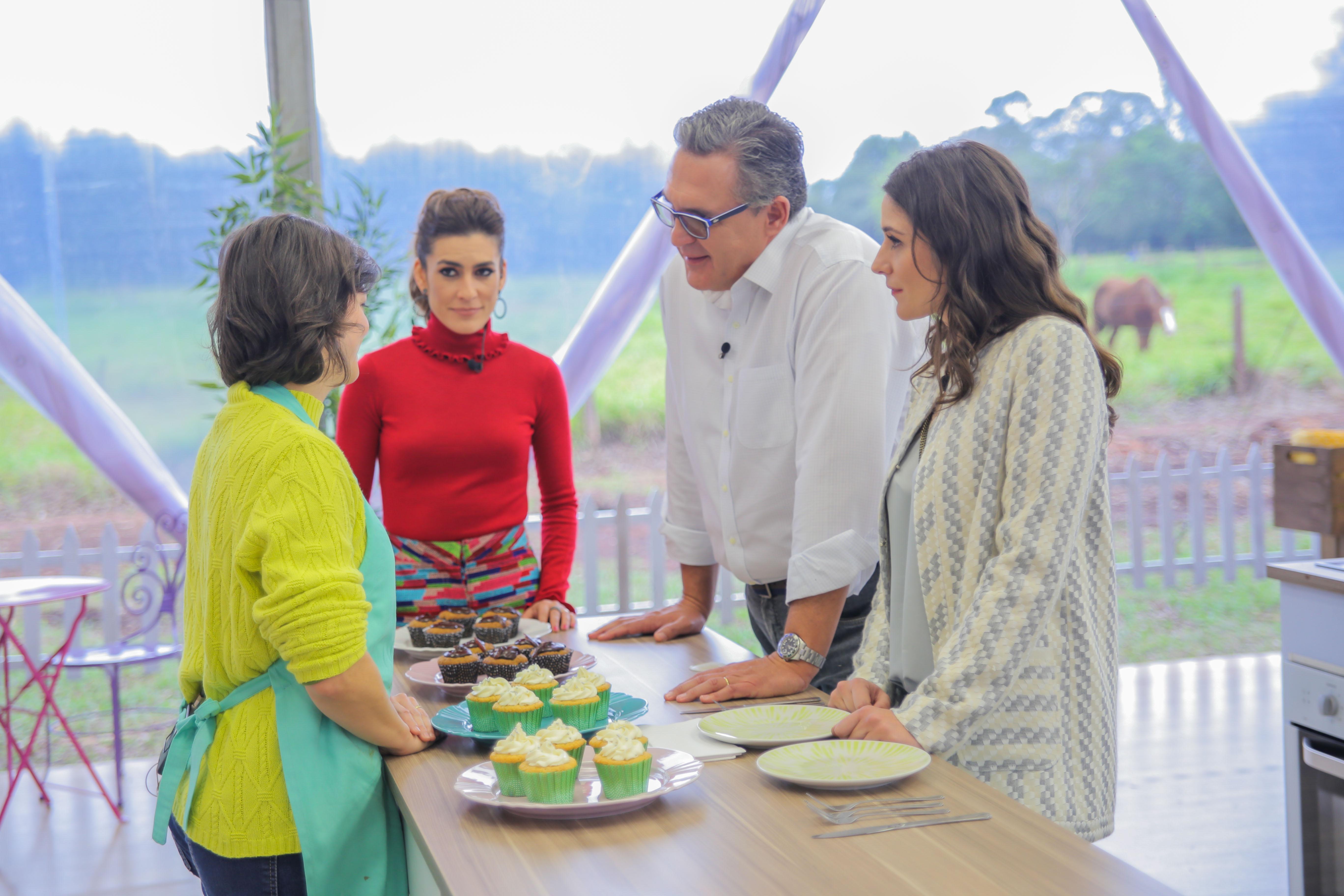 Bake Off Brasil Cup Cake