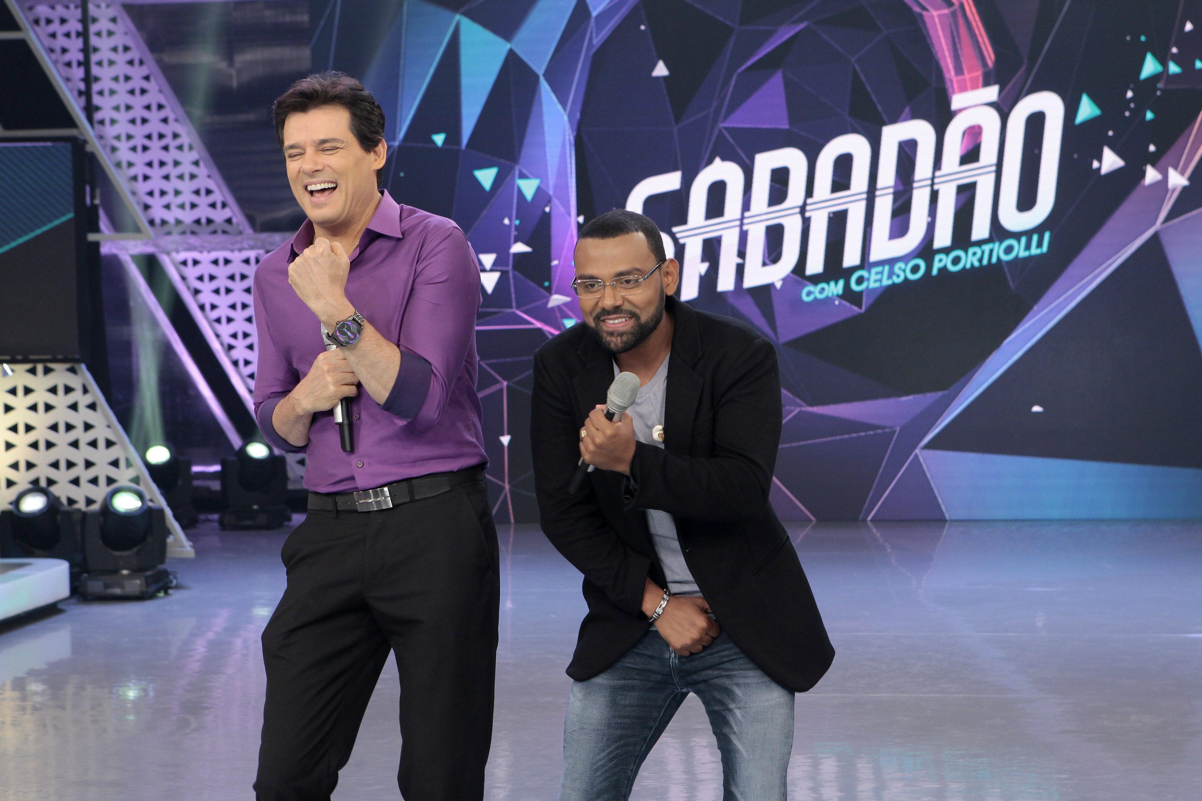 Sabadão Celso Portiolli com Pablo