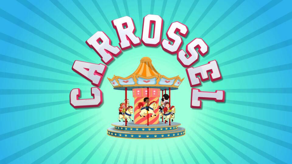 Logo de Carrossel Desenho Animado