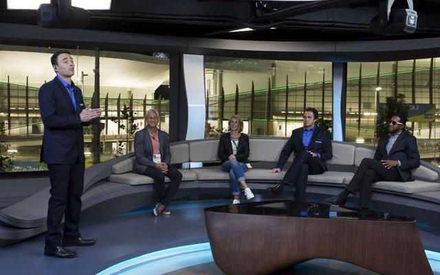 Time de profissionais do SporTV