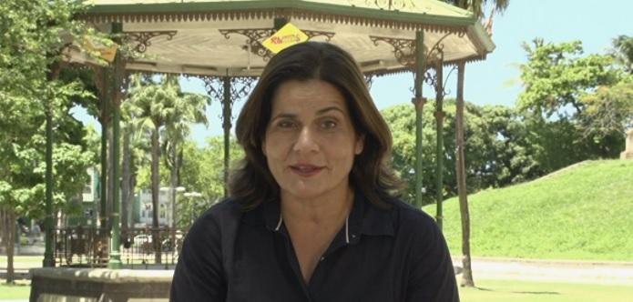 Bianka Carvalho, jornalista da Globo