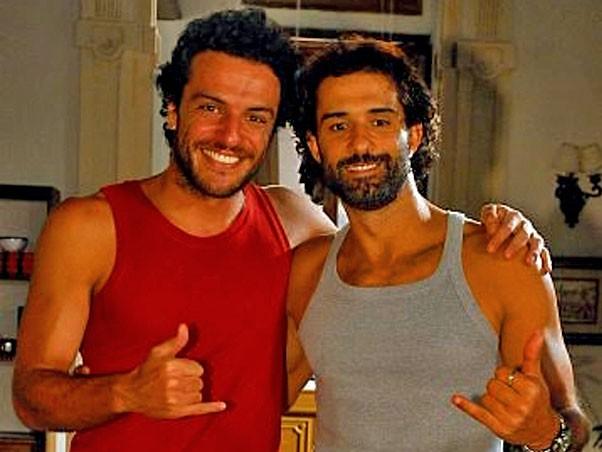 Rodrigo Lombardi e Marcos Pasquim
