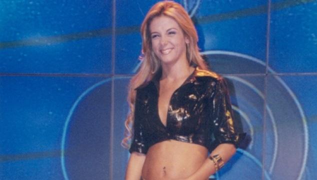 Carla Perez no Canta e Dança Minha Gente