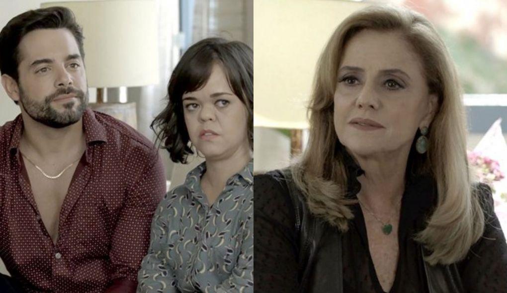 Amaro (Pedro Carvalho), Estela (Juliana Caldas) e Sophia (Marieta Severo 6141c0f760