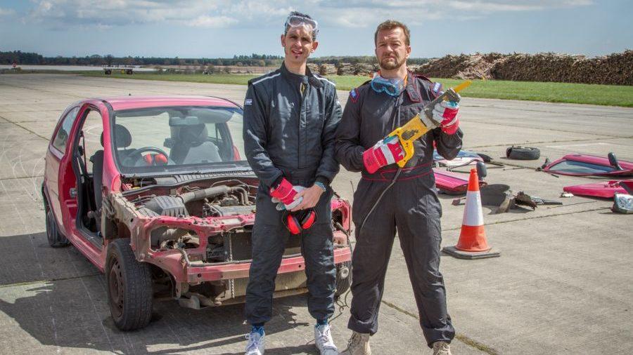 Jonny Smith and Tom Ford na série Motorhead
