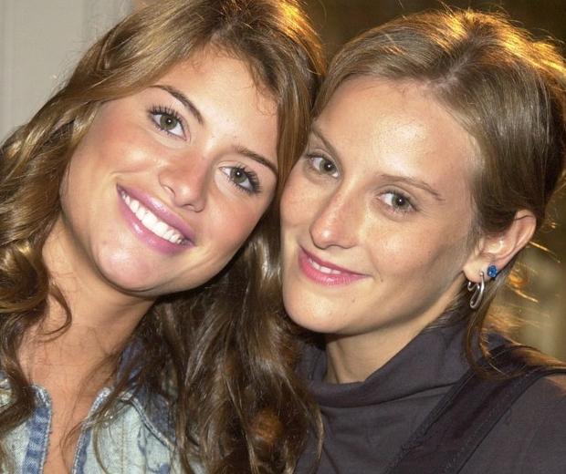 Clara (Alinne Moraes) e Rafaela (Paula Picarelli) de Mulheres Apaixonadas