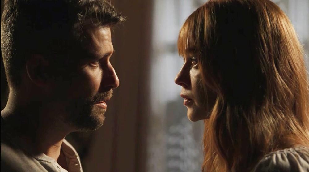 Gabriel (Bruno Gagliasso) e Luz (Marina Ruy Barbosa) de O Setimo Guardiao