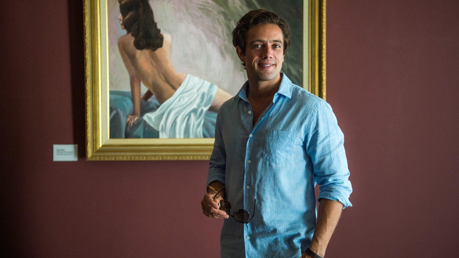 Daniel (Rafael Cardoso) de Espelho da Vida