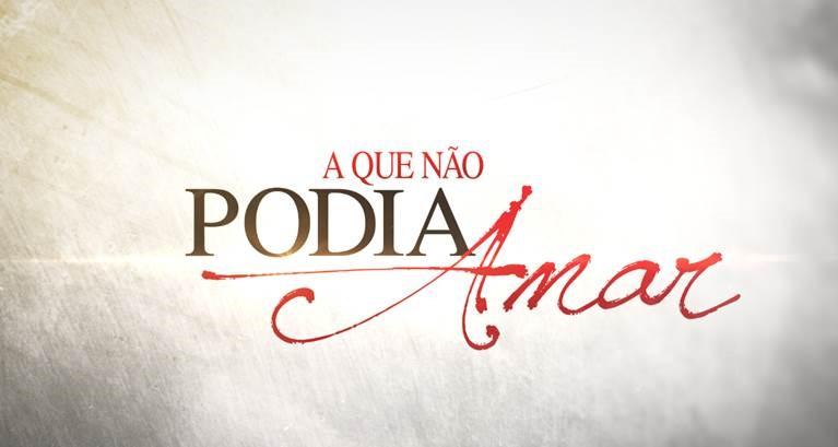 Logo da novela A Que Não Podia Amar