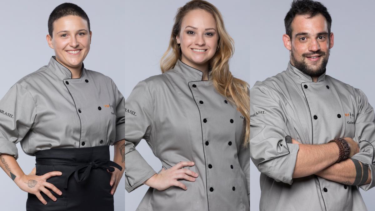 Dadis, Giovanna e Gabriel estão na final do Top Chef Brasil