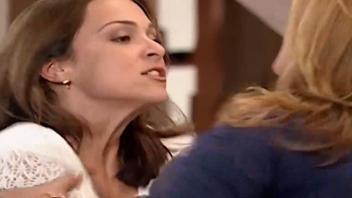 Eduarda (Gabriela Duarte) e Flávia (Maria Zilda Betlhem) em Por Amor