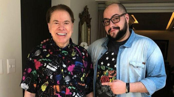 Silvio Santos e Tiago Abravanel