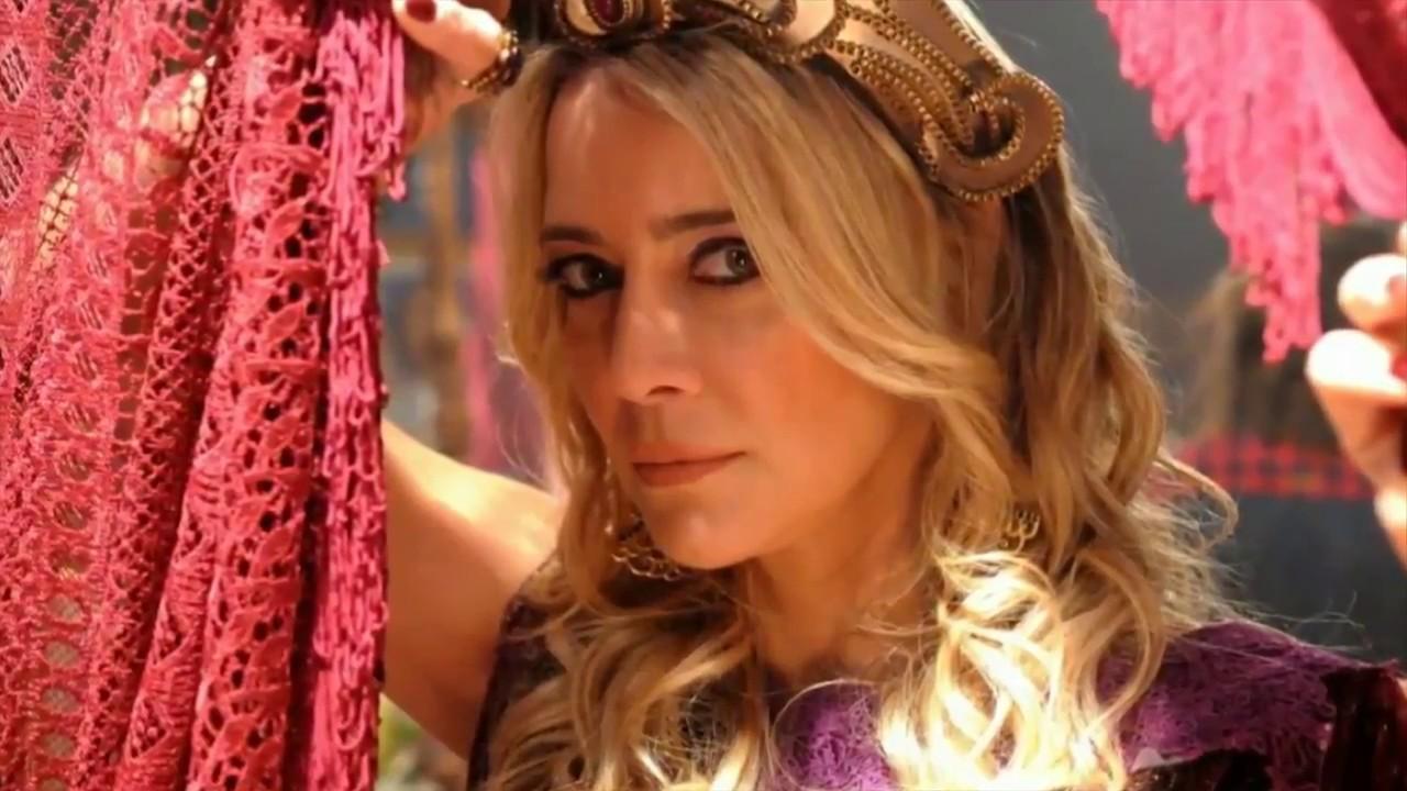 Christine Fernandes vive Sammu-Ramat em O Rico e Lázaro (Divulgação / Record TV)