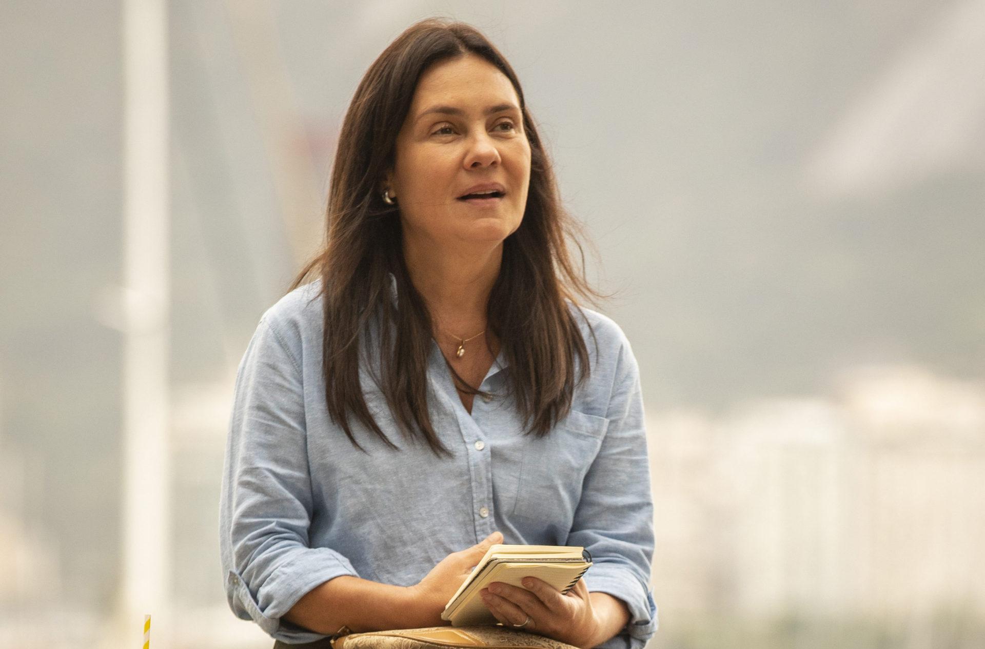 Thelma (Adriana Esteves) de Amor de Mãe