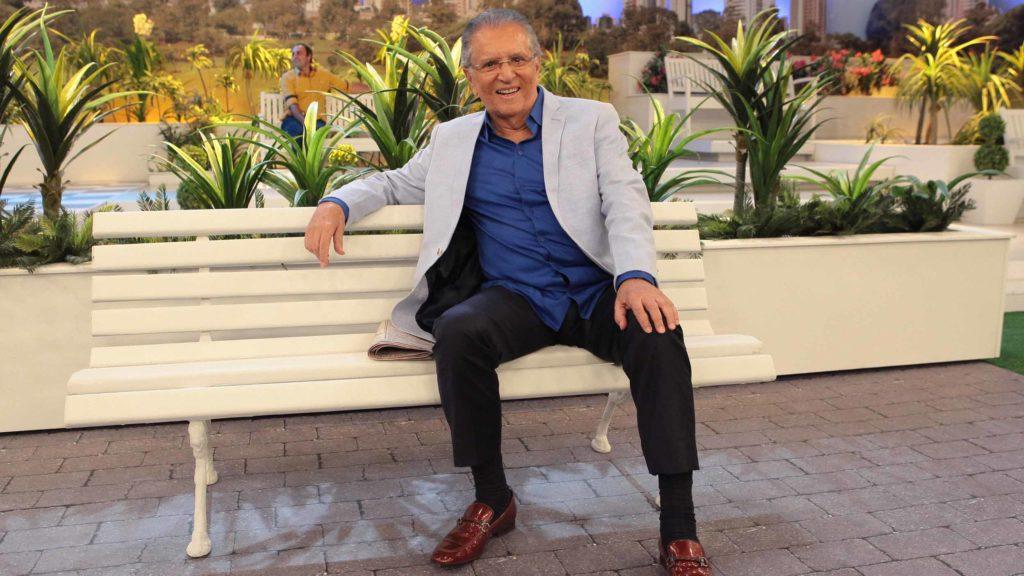 Carlos Alberto de Nóbrega em A Praça é Nossa.