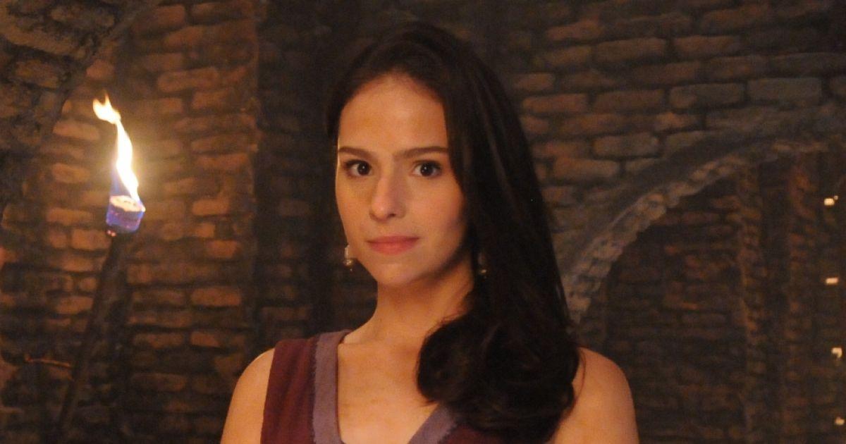 Karen Marinho como Naomi em O Rico e Lázaro (Divulgação / Record TV)