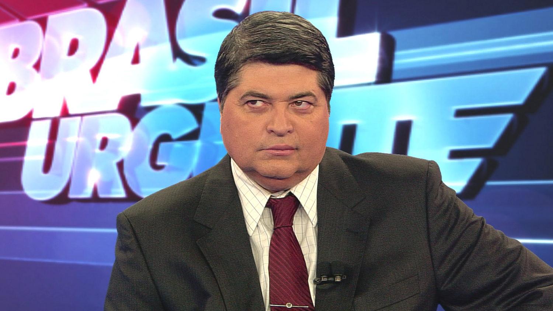 José Luiz Datena no Brasil Urgente (Divulgação / Band)