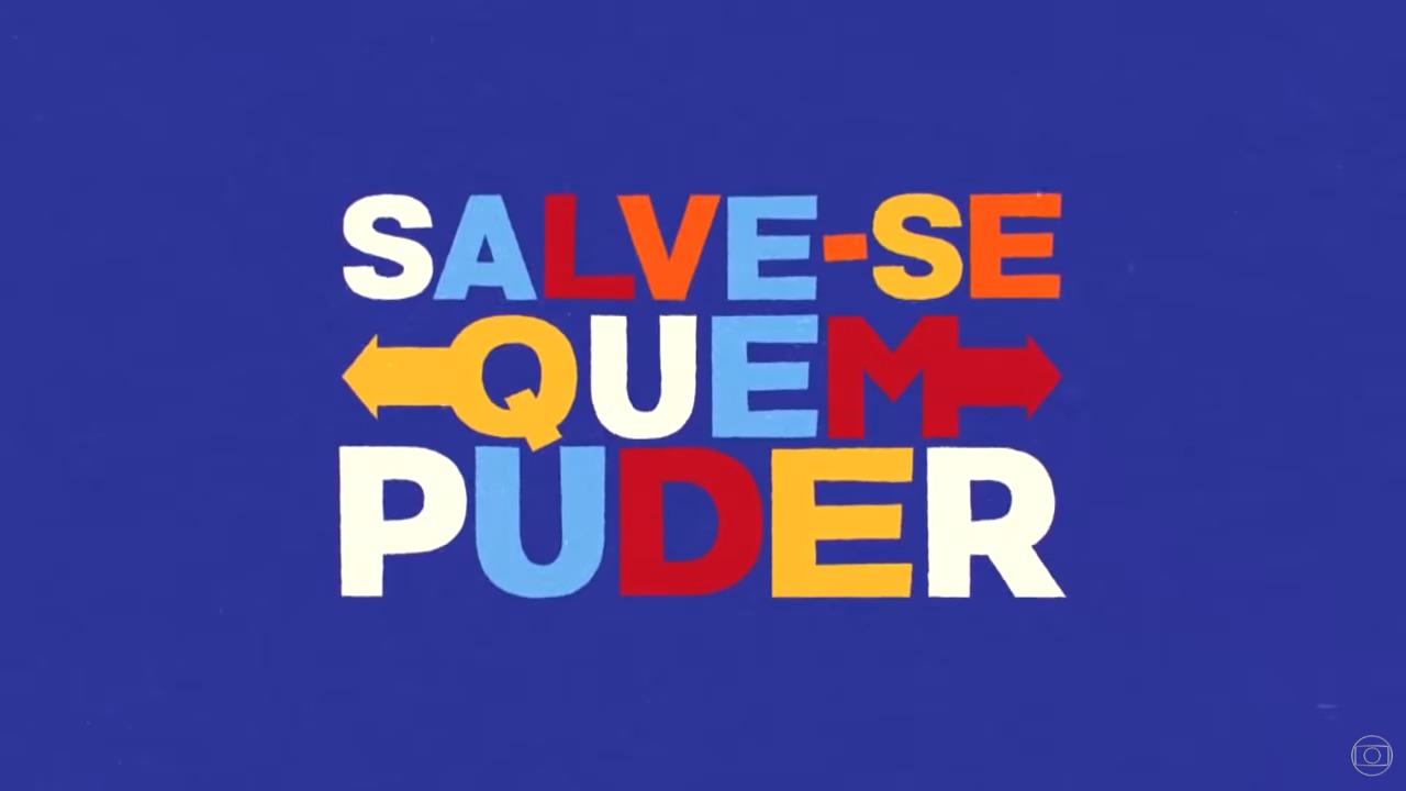 Logotipo da novela Salve-se Quem Puder
