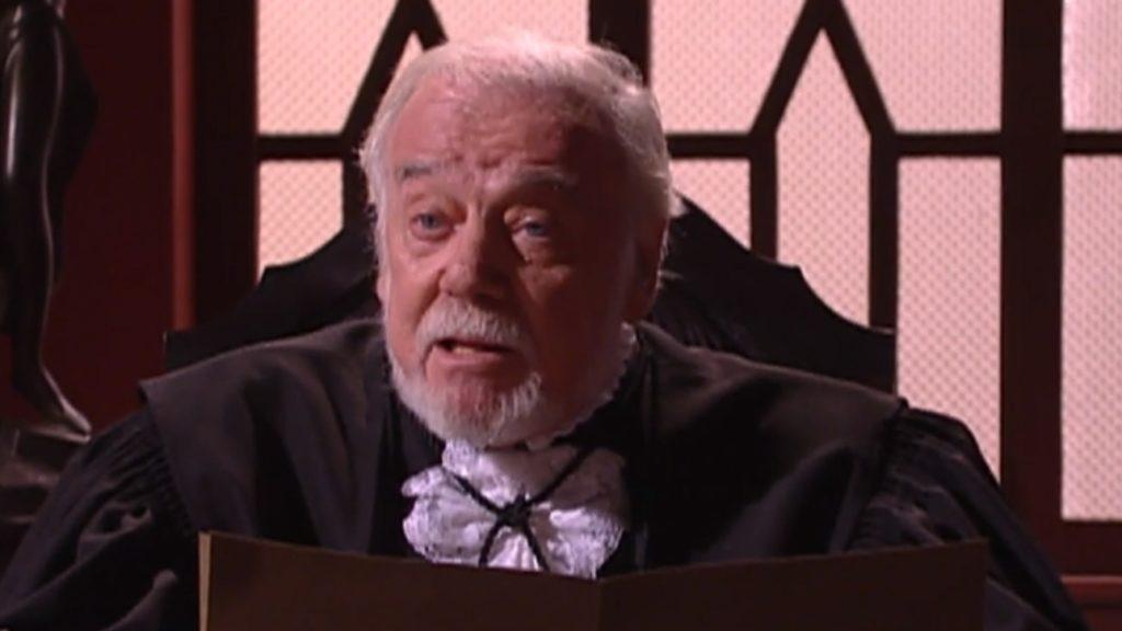 Juiz Gomes (Serafim Gonzales) em A Escrava Isaura
