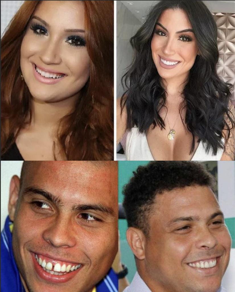 Bianca Andrade e Ronaldo Nazário