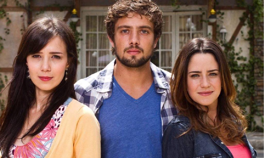 Marjorie Estiano, Rafael Cardoso e Fernanda Vasconcellos em A Vida da Gente (Divulgação / Globo)