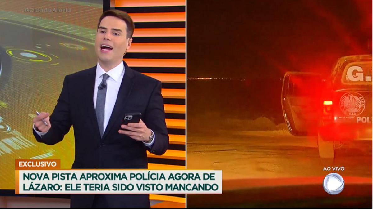 Com caso Lázaro, Cidade Alerta bate recorde de audiência