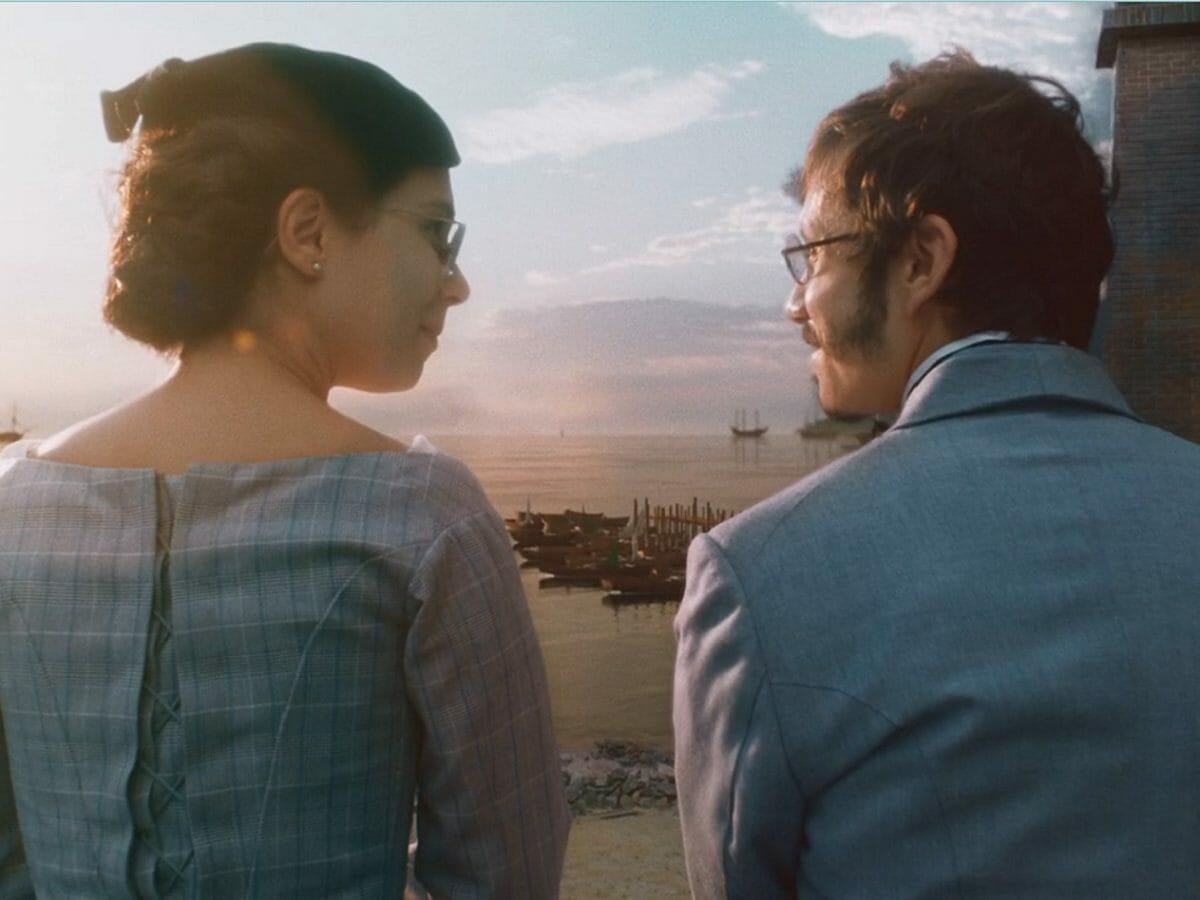 Dolores se surpreende com o carinho de Nélio