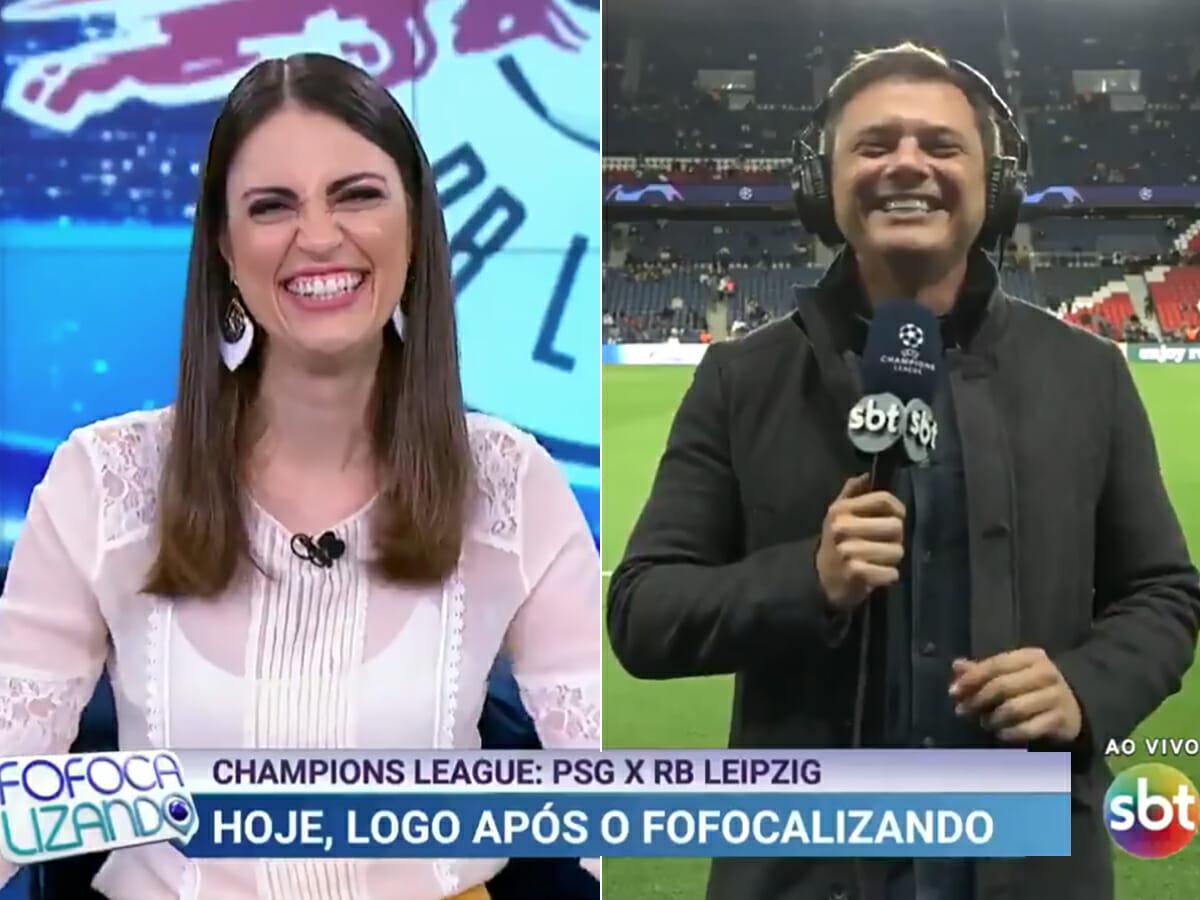 """""""Entendo de futebol, mas prefiro fofoca"""", diz Chris Flores sobre Champions League no Fofocalizando"""