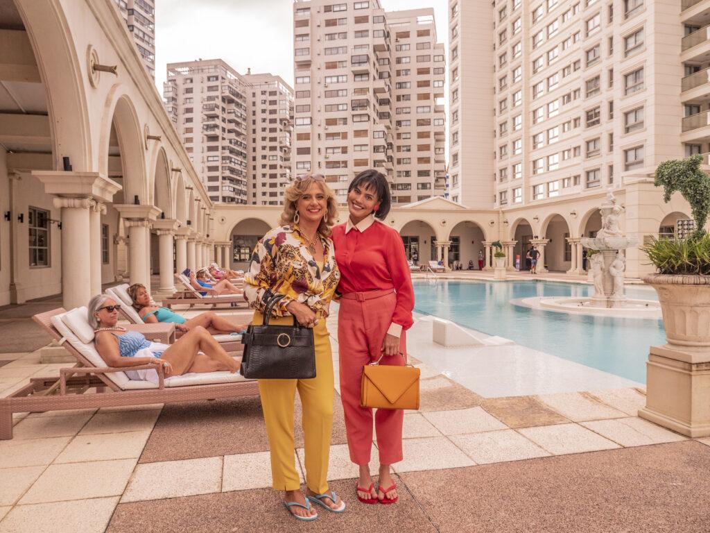 Leticia Isnard e Leticia Lima